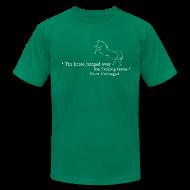 T-Shirts ~ Men's T-Shirt by American Apparel ~ Kurt Vonnegut: Sports Journalist