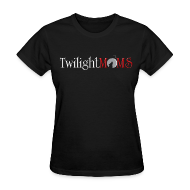 T-Shirts ~ Women's T-Shirt ~ TwilightMOMS New Moon Logo T-shirt