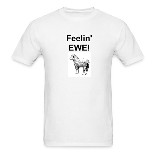 Feelin' Ewe AdShirt - Men's T-Shirt