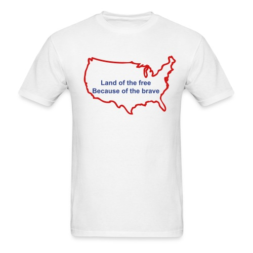 Land of the Free AdShirt - Men's T-Shirt