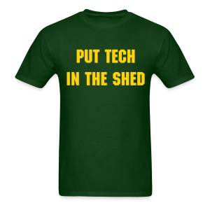 Tech In The Shed - Men's - Men's T-Shirt