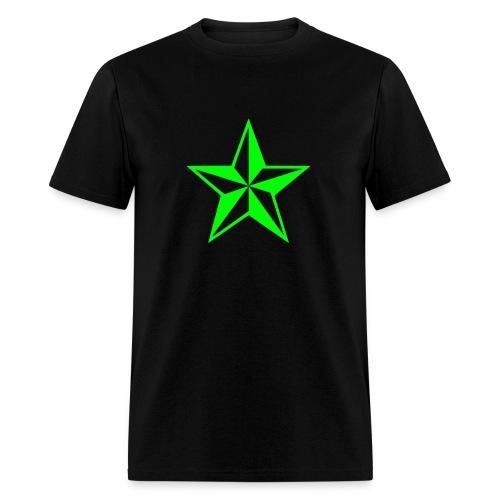 Green Star - Men's T-Shirt