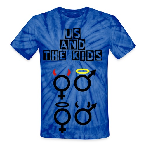 Us And The Kids - Unisex Tie Dye T-Shirt