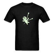 T-Shirts ~ Men's T-Shirt ~ VODOO DOLL GLOW IN THE DARK T-Shirts on Sale