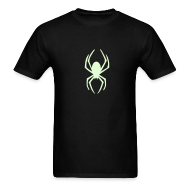 T-Shirts ~ Men's T-Shirt ~ SPIDER GLOW IN THE DARK T-Shirts on Sale