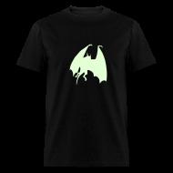 T-Shirts ~ Men's T-Shirt ~ BAT GLOW IN THE DARK T-Shirts on Sale