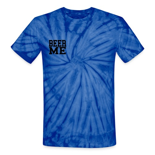 Beer T- Shirt - Unisex Tie Dye T-Shirt