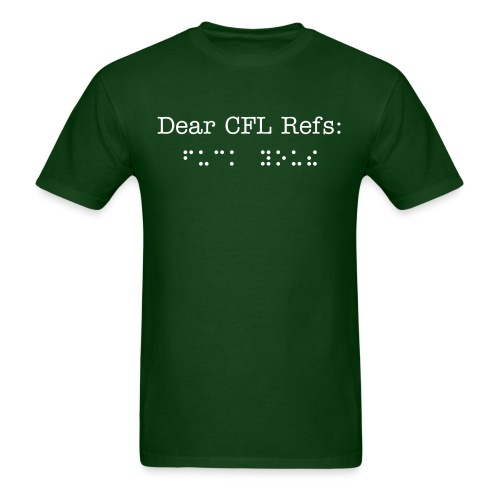 Blind Refs - Men's T-Shirt