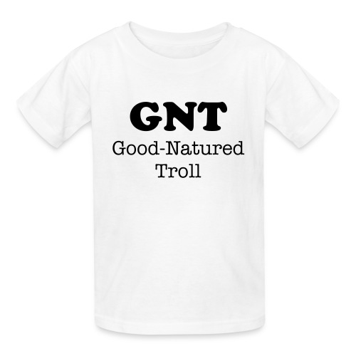 GNT - Good-Natured Troll - Kids' T-Shirt