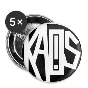 OK! Kaos! Sphere pins - Small Buttons