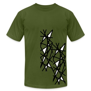 OK! Pick up Sticks  - Men's T-Shirt by American Apparel