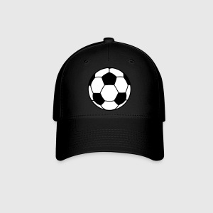 Royal blue Soccer Ball 2C Caps - Baseball Cap