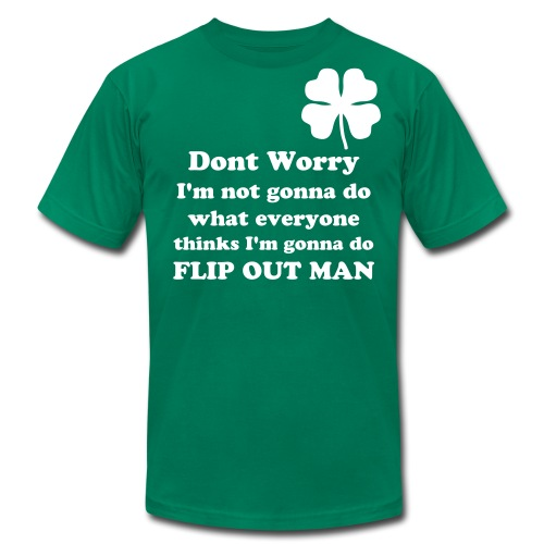 Don't worry - Men's Fine Jersey T-Shirt