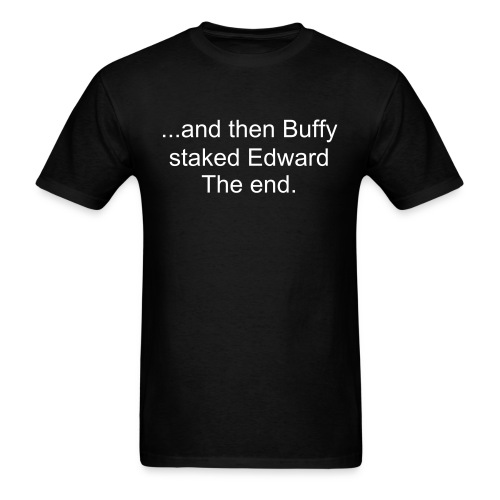 Buffy vs. Edward - Men's T-Shirt