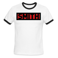 T-Shirts ~ Men's Ringer T-Shirt ~ Men's Smith Tee Logo Shirt