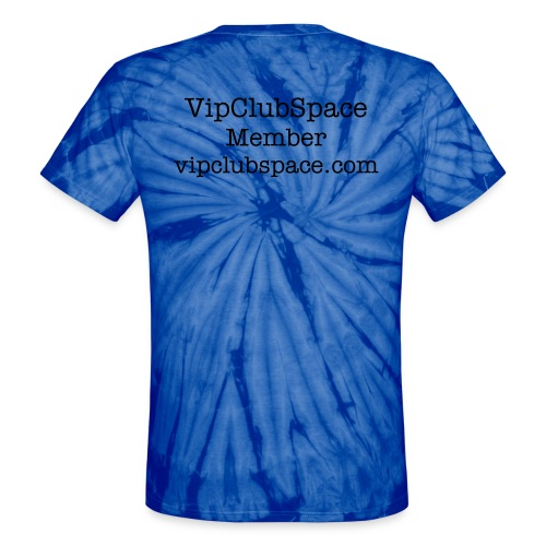 VipClubSpace Baby Blue Sky - Unisex Tie Dye T-Shirt