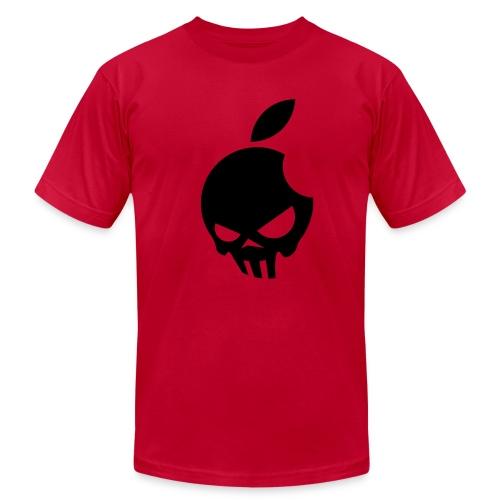Apple Skull - Men's Fine Jersey T-Shirt