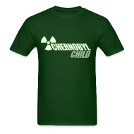 T-Shirts ~ Men's T-Shirt ~ CHERNOBYL CHILD GLOW-IN-THE-DARK