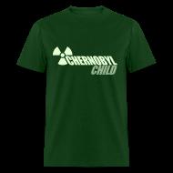 T-Shirts ~ Men's T-Shirt ~ CHERNOBYL CHILD GLOW-IN-THE-DARK