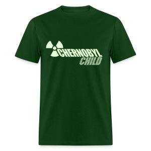 CHERNOBYL CHILD GLOW-IN-THE-DARK - Men's T-Shirt