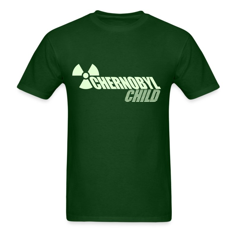 CHERNOBYL CHILD GLOW-IN-THE-DARK - Men's T-Shirt