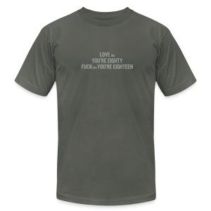 80/20 Rule - Men's Fine Jersey T-Shirt