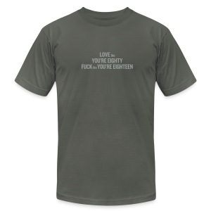 80/20 Rule - Men's Fine Jersey T-Shirt