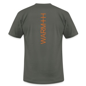 WARM+H - Men's T-Shirt by American Apparel