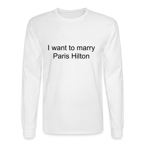 Marry Paris Hilton - Men's Long Sleeve T-Shirt