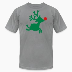 Slate rudolph the red nosed reindeer right T-Shirts