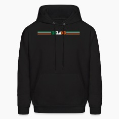 Black ireland Hoodies