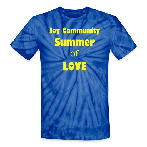 Joy - Summer of Love - Unisex Tie Dye T-Shirt