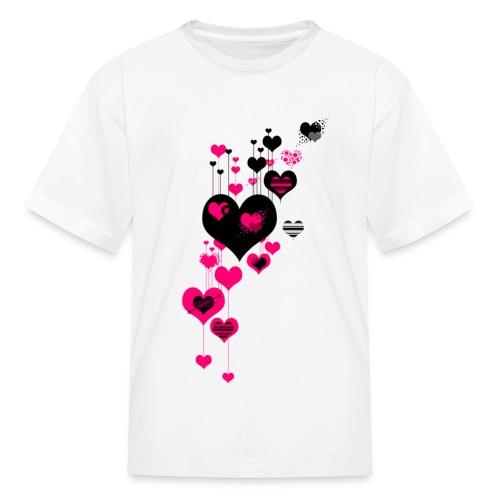 40 hearts - Kids' T-Shirt