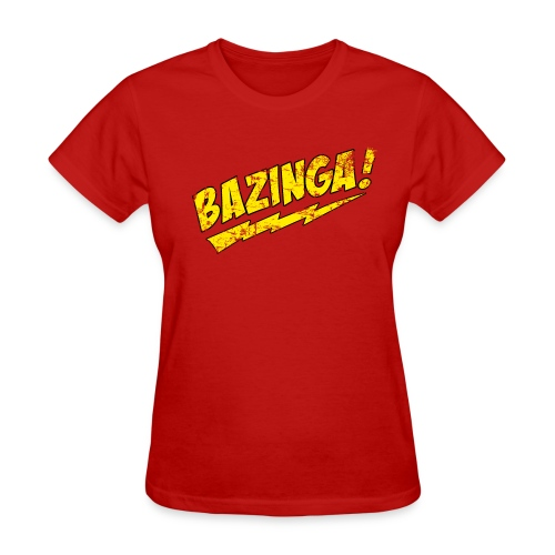 BAZINGA Women's T-Shirt Sheldon T-Shirt - Women's T-Shirt