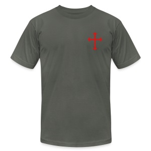 mens summer cross - Men's Fine Jersey T-Shirt