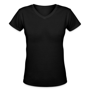Just Me/ no design - Women's V-Neck T-Shirt