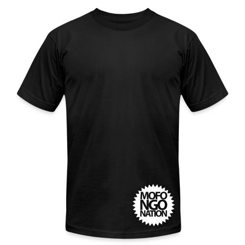 Label (White) - Men's Fine Jersey T-Shirt