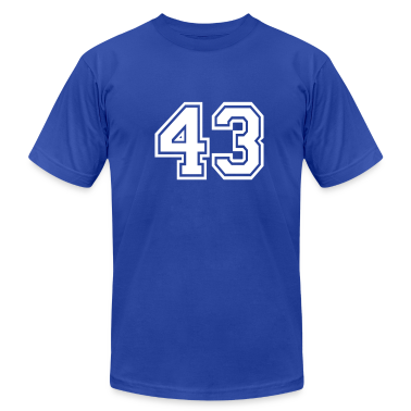 Royal blue 43 T-Shirts