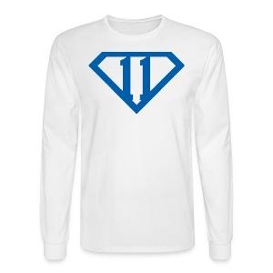 Men's Wall Hero Long-sleeve T 11 - Men's Long Sleeve T-Shirt