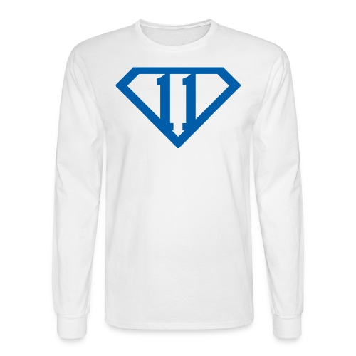 Men's Wall Hero Long-sleeve T 11 - Men's Long Sleeve T-Shirt