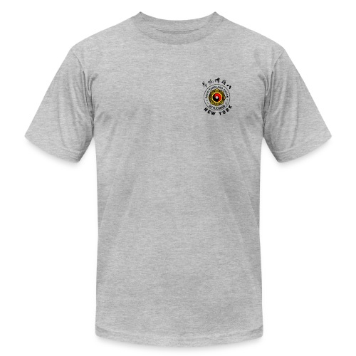 American Apparel Tee, Grey - Men's Fine Jersey T-Shirt