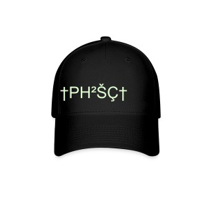Baseball Cap - S/M, L/XL   Glow in the dark writing