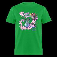 T-Shirts ~ Men's T-Shirt ~ Freen in Green Band shirt