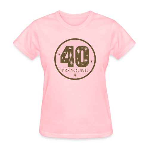 Forty years young - Women's T-Shirt
