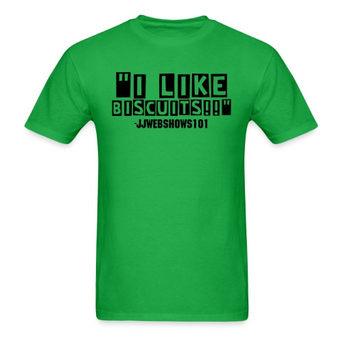 I Like Biscuits - Men's - Men's T-Shirt