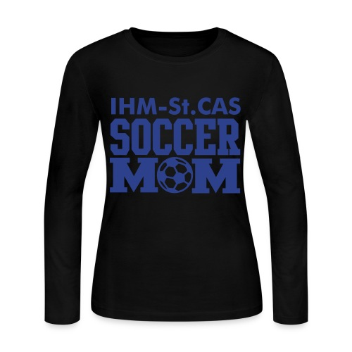 Soccer Mom T-shirt - Women's Long Sleeve Jersey T-Shirt
