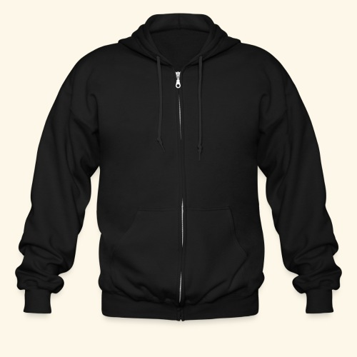 Just Me no design - Men's Zip Hoodie