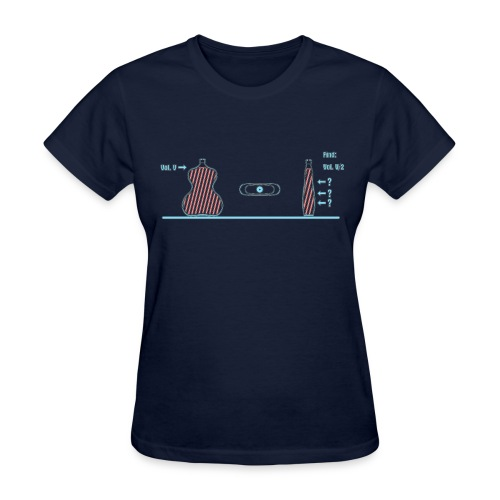 Volume Bisection - Women's T-Shirt