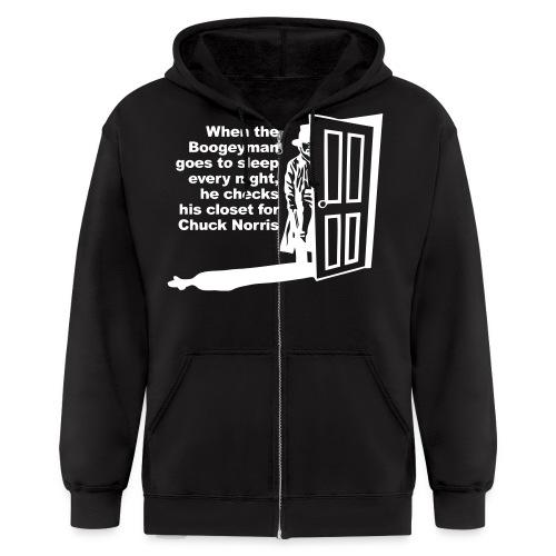 The Ultimate Chuck Norris Sweatshirt Hoodie - Men's Zip Hoodie