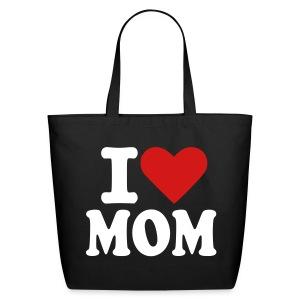i love mom - Eco-Friendly Cotton Tote